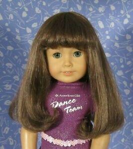 Monique JUDIE #4  Lt. Brown Full Adj. Cap Doll Wig Size 10-11 American Girl Sz