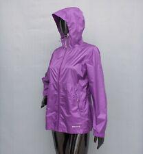 MARMOT Jacket Ladies Purple Hooded Waterproof Coat Lightweight M