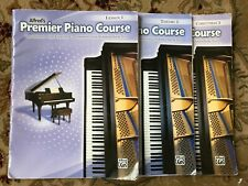 Alfred's Premier Piano Course 3 Lesson, Theory, Christmas Books