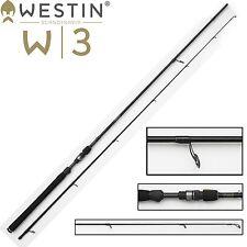 Westin Spinnrute W3 Powershad 240 cm M 7-25g, Blinkerrute für Zander & Barsch