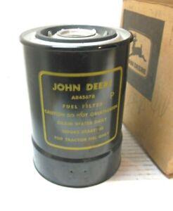 JOHN DEERE ORIGINAL VINTAGE  TRACTOR FUEL FILTER CANISTER AR45678