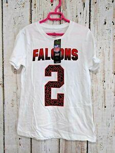 LZ Girl's Medium 10/12 Reebok Atlanta Falcons Matt Ryan Shirt Tee T-Shirt NEW