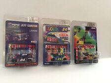 Jeff Gordon 1:64 Lot of 3 Action Die cast Cars