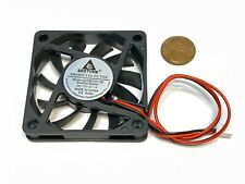 1 GDStime 12v Cooling Fan 6010 PC DC Computer Case CPU 6cm 60mm 10mm 2pin WD A11