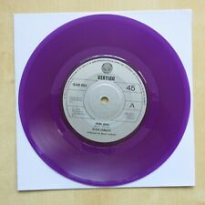 "BLACK SABBATH Hard Road / Sympton Of The Universe UK 7"" purple vinyl 1978"
