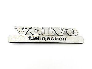 VOLVO FUEL INJECTION 740 760 480 780 440 460 940 960 850 EMBLEM BADGE OEM (1984)