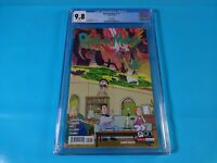 CGC Comic graded 9.8 ricky & morty  #1 fifth print variant 3 oni press Key issue