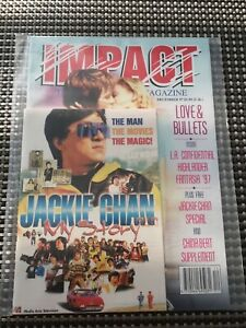 Impact Magazine December 1997 w/ Jackie Chan 'My Story' Supplement Vintage Retro