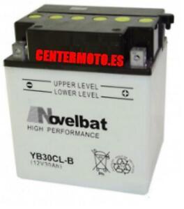 Bateria NOVELBAT YB30CL-B (con electrolito) 12V 30AH 300A