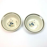 2 Royal Doulton Bowls Hill Top LS1025 Pattern Lambethware Made In England