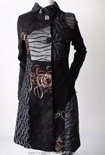 LUXX Women's Coat  Long Sleeve Multi Coloured Size Small
