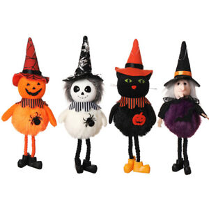 Halloween Witch Doll Ornament Home Door Wall Tree Hanging Decor Festival Gifts