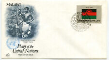 United Nations #403 Flag Series, Malawi, ArtCraft, Fdc
