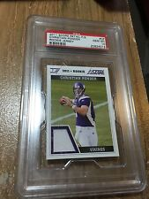 2011 Score Christian Ponder Rookie Retail Jersey RC #CP Vikings PSA 10 Gem Mint