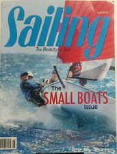 Sailing June 2016 The Small Boats Issue Beauty of Sail Boat FREE SHIPPING sb