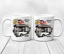 Personalised VAUXHALL NOVA Classic Vintage Car Mug Cup Dad Christmas Him Gift