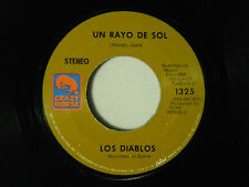 Los Diablos 45 Un Rayo De Sol / Una Manana ~ VG+ Spain pop. rock