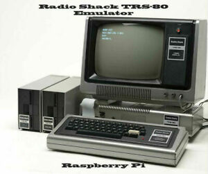 Radio Shack TRS-80 ~ Raspberry Pi emulator, with great software collection