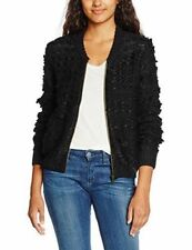BILLABONG Shaggy Chic Cardigan M Black New without tags