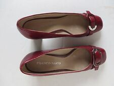 Franco Sarto Women Red Shoes Upper Leather Made in China 8 1/2 M w Box