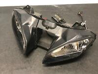 08-16 2009 Yamaha YZFR6 YZF-R6 Headlight Head Light Black Assembly Light Lamp *