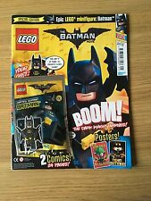 Lego BATMAN MOVIE Magazine ISSUE 1. FEB 2017 WITH LTD EDITION BATMAN MINI FIGURE