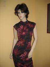 NWOT Karen Millen Chrysanthemum Oriental Wiggle dress UK 12, US 8, EU 40