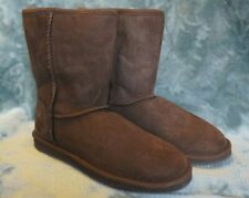 LL Bean Brown Suede Boots Size 7 M