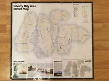 Grand Theft Auto IV (GTA 4) Double Sided Map - UK Stock - PS3 Size