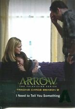 Arrow Season 2 Green Foil Parallel Base Card #37 I Need to Tell You Something