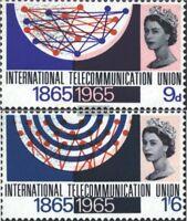 Großbritannien 406x-407x (kompl.Ausg.) postfrisch 1965 Fenmeldeunion