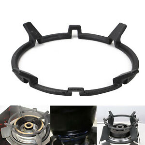 Wok Pot Stand Cooker Cast Iron Gas Burner Rack Accessories Support Sturdy Home
