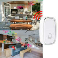 Wireless 4 Volume 1000FT Doorbell Chime 2 Plugin Receivers + 1 Transmitter New