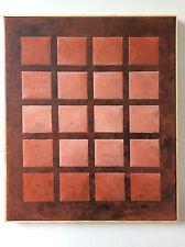 Terrakotta XX, Original von Norbert Herzog, Bauhaus-artig, modernart