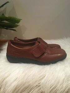 Hotter Ladies Brown Leather Shoes UK 4 EU 37