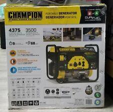Champion Power Equipment 3500W / 4375W Dual Fuel Generator