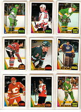 NHL TRADING CARDS --- OPC -- 1987/1988 -- MOLTO RARO -- in custodie --- 54 CARDS