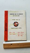 Garelli 49 Rekord-Cross-MiniBike '70 manuale officina ENGLISH Engine shop manual