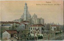 1914 Padova - Basilica di Santa Giustina dalle mura, campanile - FP COL VG
