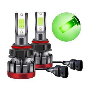 2x H11 H8 H9 Lemon Green LED Driving Fog Light Bulb For Honda Toyota  Nissan