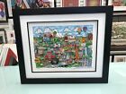 """Charles Fazzino 3D Artwork """" Make It Detroit  """" Signed & Numbered Deluxe Edition"""