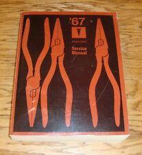 1967 Pontiac Shop Service Manual 67 Bonneville Grand Prix Tempest Lemans GTO