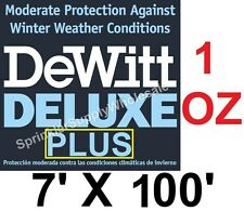 DeWitt Deluxe PLUS 7 x 100' 1oz Frost Plant Protection Germination Blanket Cloth
