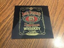 Vintage Jack Daniels Old Time  No 7 Glass Trivet or Coaster Advertising