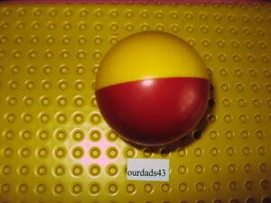 K'nex Red And Yellow Ball Knex Big Ball Factory Replacment x1