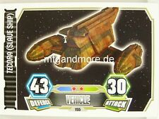 Tecora (Slave Ship)  #155 - Force Attax Serie 3