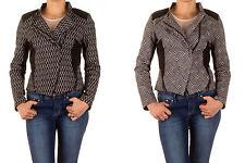 Taillenlange Damenjacken & -mäntel aus Baumwollmischung für die Freizeit