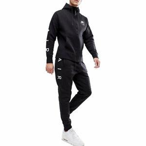 NIKE AIR 886044 Mens Club Zip Hoody Full Tracksuits Cotton New Hoody/Jogger Nike