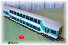 Märklin 00763-03 -doppelstockwagen 2. Pequeño Stuttgart DB Escala H0 de Pantalla