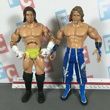 WWE Wrestling Jakks USED Figures Lot Ruthless Aggression CM Punk Brian Kendrick